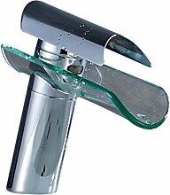 Auralum Wasserhahn Glas Spüle Waschtisch