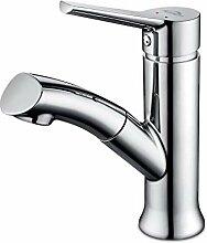 Auraum Wasserhahn Bad armatur mit herausziehbarer,