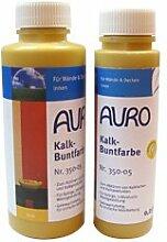 AURO Kalk-Buntfarbe Braun 0,5 L