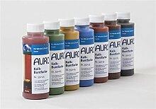 AURO Kalk-Buntfarbe Lichtblau 0,25 L