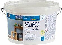 AURO Kalk-Buntfarbe Oxid-Rot 2,5 L