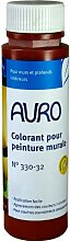 Auro Vollton- und Abtönfarbe (0,25 Liter, englisch-rot)