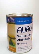 AURO Vollton- und Abtönfarbe - Eisenoxid-Braun - 2,5L