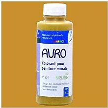 AURO Vollton- und Abtönfarbe - Ocker-Gelb - 0,5L