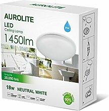 AUROLITE LED 18 W IP44, Ø 26 cm, 1450 lm,