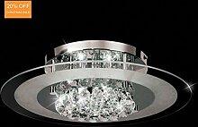 Aurolite Moderne Kristall-Deckenleuchte,