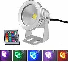 Aurox 10 W 12 V RGB Farbwechsel IP67 Wasserdichte