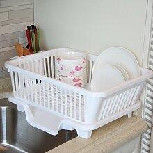 Aus Hochwertigem Kunststoff Drainboard Küche Regal Lishui Geschirr / Küche / Tropf Rack Rack Klammer,Zunehmen -