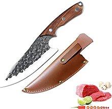 Ausbeinmesser Outdoor Messer Geschmiedet Boning