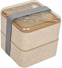 Auslaufsichere Brotdose, zweilagig mit