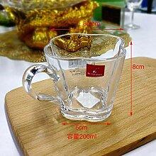 Auslaufsichere Klarglas Bleifreies Kristallglas
