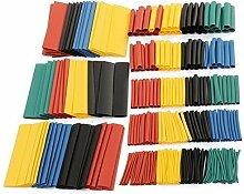 Aussel Wärmeschrumpfschläuche Kit Car-elektrischen Draht Kabel Schläuche Verpackungs-Kabel-Sleeving Set mit Box (Size5)