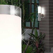 Außen Sensor Wandleuchte / Bewegungsmelder / Wandlampe Sensorleuchte Außenleuchte Sensorlampe / Edelstahl