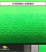 Außen Teppich | Nadelfilz Teppich, GUT-Siegel, emissions- und geruchsfrei, wasserabweisend |Bodenbelag im Freien | Größe wählbar | MadeInNature® (1000 x 200 cm, Grasgrün)