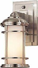 Außen Wandlampe IP44 maritimes Design schmal
