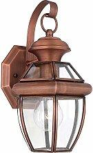 Außen Wandlampe IP44 Vintage Design aus Stahl