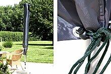 Außen-Wasserdicht Schutzhülle für Sonnenschirm Deluxe Durchmesser 180–200cm/Abdeckplane Sonnenschirm.