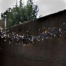 Außenbeleuchtung Lichterkette 1128 warmweiße LED