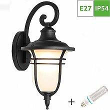 Aussenlampe Antik Gartenlampe, Wandlaterne für