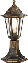 Außenlampe Antik Messing IP44 - New Haven