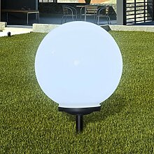 Aussenlampe Solarkugel Solarlampe LED Gartenkugel