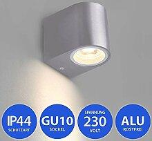 Aussenleuchte 1267 GU10 inkl. LED 5W Warmweiß