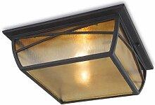 Außenleuchte Alba Aluminium LEDs C4 Deckenmontage