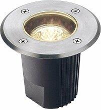 Außenleuchte DASAR® 115 MR16 starr Einbauleuchte mit runder Edelstahlblende runde Blende EEK: A+ - C