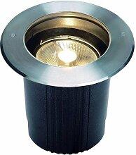 Außenleuchte DASAR® ES111 Bodeneinbauleuchte mit runder Blende EEK: A++ - E