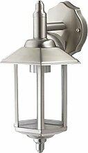 Außenleuchte E27 Edelstahl Lampe Wandleuchte Außenlampe Gartenlampe LED Leuchte (Wandlampe Pandora)