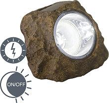 Außenleuchte inkl. LED auf Solarenergie - Rocky
