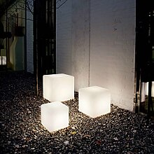 Außenleuchte LUNA PT1 D30 Lichtobjekt, E27, weiß