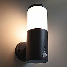 Außenleuchte mit Bewegungssensor E27 Fassung Wandleuchte Sensor Außenwandleuchte Wandlampe Außenlampe Aussen Beleuchtung Aussenlicht mit Bewegungsmelder 296A1