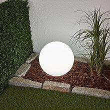 Außenleuchte mit Erdungsstift 30 cm inkl. LED auf