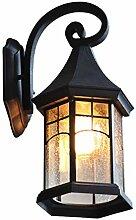 Außenleuchte rustikaler Landhaus-Stil Wandlampe