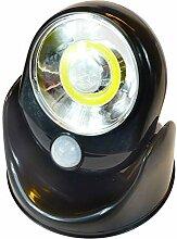 Außenleuchte Strahler LED COB mit Bewegungsmelder