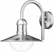 Außenleuchte Wandlampe 1 flmg. IP44 E27 Wandleuchte Lampe Ledino 50500000001015