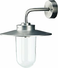 Außenleuchte Wandlampe 1 flmg. IP44 E27 Wandleuchte Lampe Ledino 50500000004015