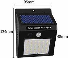 Außenleuchten LED Solarlampe Außengartenlampe