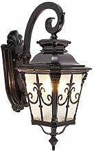 Außenleuchten Wandlampe Schwarze Antikes Design