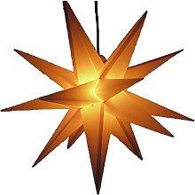 Außenstern 65 cm 3 Farben beleuchteter Stern