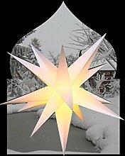 Außenstern 75 cm beleuchteter Stern