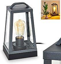 Außentischleuchte Zakopane, moderne Wandlampe aus