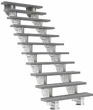Außentreppe DOLLE Gardenstep mit 11 Stufen