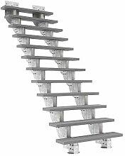 Außentreppe DOLLE Gardenstep mit 12 Stufen