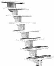 Außentreppe DOLLE Gardenstep mit 8 Stufen