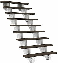 Außentreppe DOLLE Gardenstep mit 9 Stufen