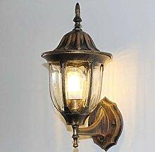 Außenwandlampe, europäische Artwandlampe,