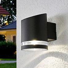 Außenwandleuchte anthrazit inkl. LED Solar -