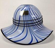 Außenwandleuchte Glas Hat Dekoration, blau
